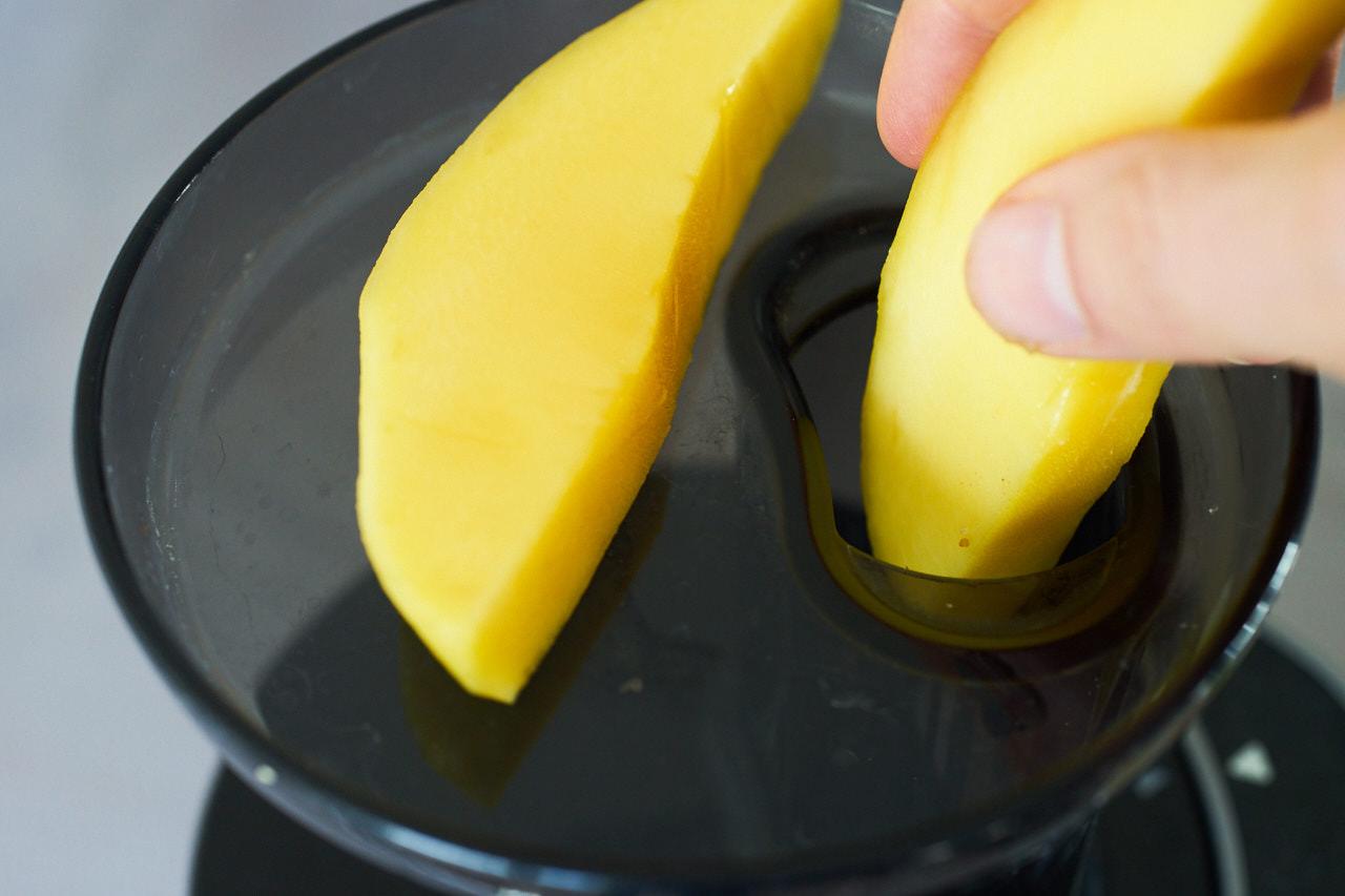 Mango entsaften