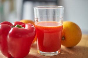 Orange Paprika Saft