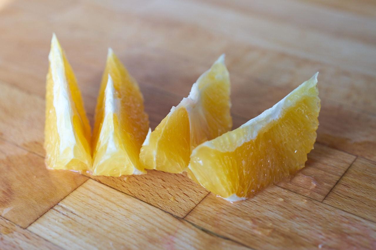 Orange als Saftzutat