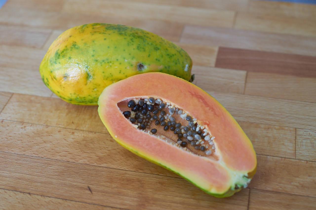 Papaya als Zutat für Säfte